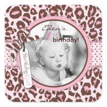 Cheetah Girl Photo Sticker 2