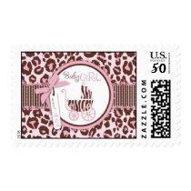 Cheetah Girl Stamp Pink B