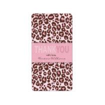 Cheetah Girl TY Mini Hershey Bar Label