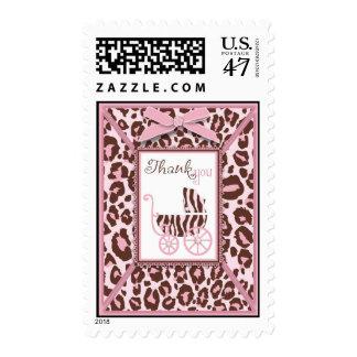 Cheetah Girl TY Stamp Pink