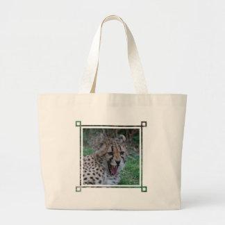 Cheetah Growl Canvas Bags