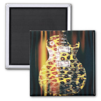 Cheetah Guitar Magnet