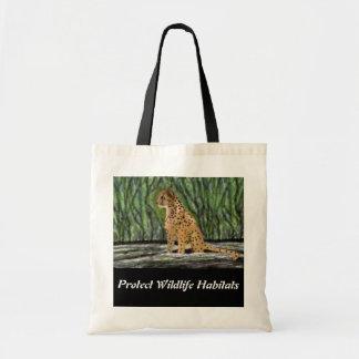 Cheetah Habitat Budget Tote
