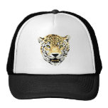 Cheetah Head Drawing Hat