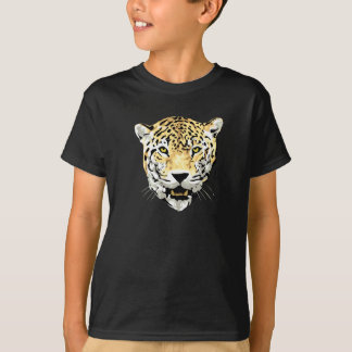 Cheetah Head Drawing T-Shirt