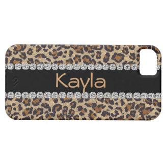 Cheetah I phone 5 CASE  bling DESIGN