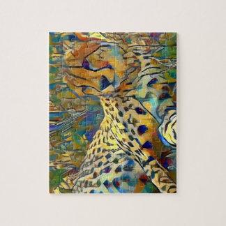 Cheetah in Africa Jigsaw Puzzle