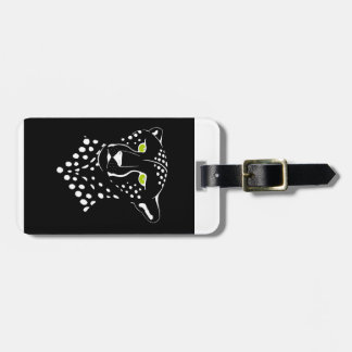 Cheetah Inverted Tag For Luggage