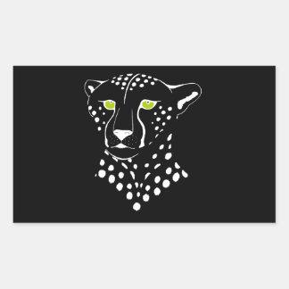 Cheetah Inverted Sticker