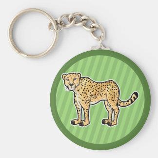 Cheetah Keychain