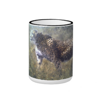 cheetah knp ringer coffee mug