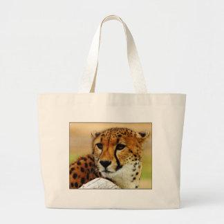 Cheetah Large Tote Bag