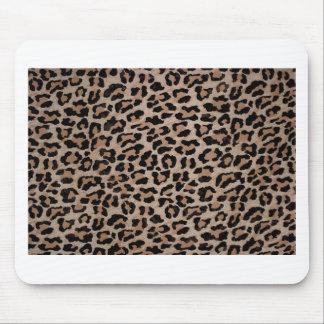 cheetah leopard print mouse pad