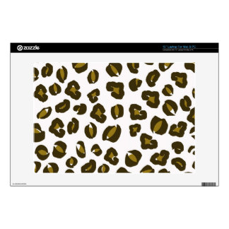 Cheetah leopard skin spots print nature pattern skin for laptop
