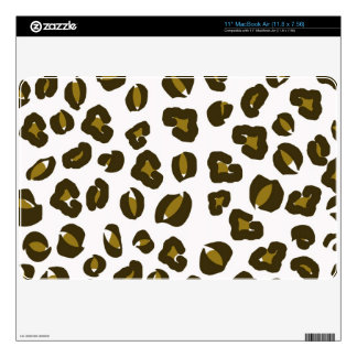 Cheetah leopard skin spots print nature pattern decals for MacBook air