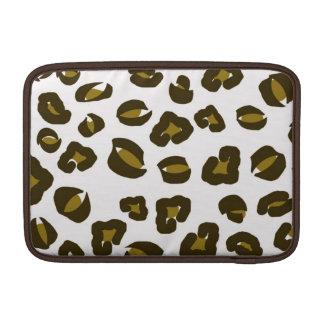 Cheetah leopard skin spots print nature pattern MacBook sleeves