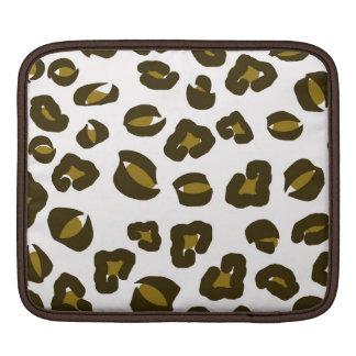 Cheetah leopard skin spots print nature pattern iPad sleeve