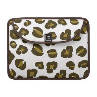 Cheetah leopard skin spots print nature pattern MacBook pro sleeve