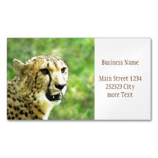 Cheetah Magnetic Business Card