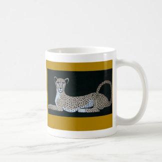 cheetah mug by D. MARQUIS