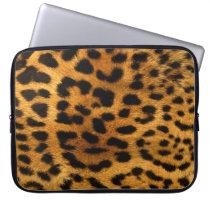 "Cheetah Neoprene Laptop Sleeve 15"""
