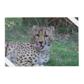Cheetah Laminated Place Mat