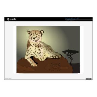 "Cheetah On The Savannah Skin For 15"" Laptop"