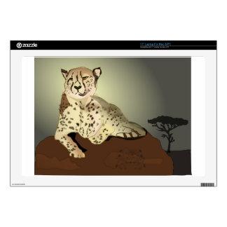 "Cheetah On The Savannah Skin For 17"" Laptop"