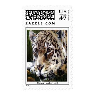 Cheetah Painting Postage