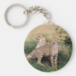 Cheetah Pair Keychain