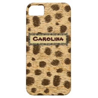 Cheetah Pattern Animal Print Personalized iphone 5