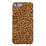 Cheetah pattern barely there iPhone 6 case
