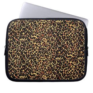 Cheetah Pattern Laptop Sleeve