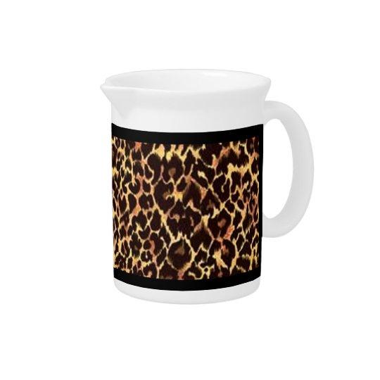 Cheetah Pattern Pitchers