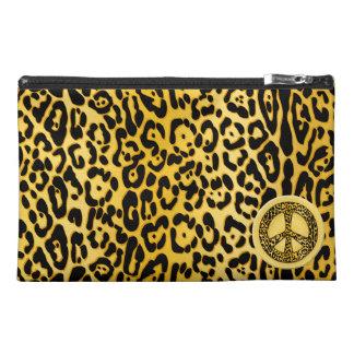 Cheetah Peace Angel Bagettes Bag Travel Accessory Bag