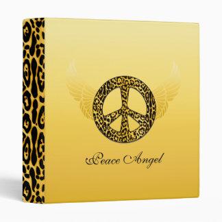 Cheetah Peace Angel Binder