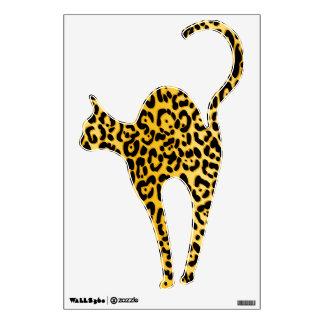 Cheetah Peace Angel Wall Decal