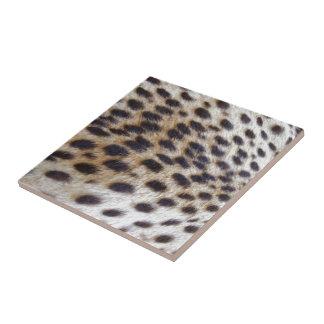 Cheetah Pelt Ceramic Tile