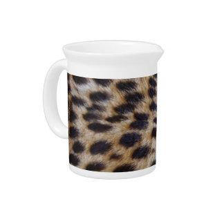 Cheetah Pelt Drink Pitcher