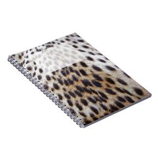 Cheetah Pelt Notebook