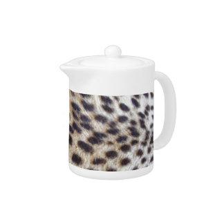 Cheetah Pelt Teapot