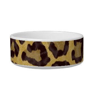 Cheetah Pet Bowl