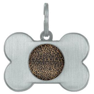 Cheetah Pet ID Tags