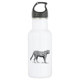 Cheetah 18oz Water Bottle