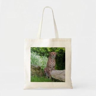 Cheetah Photo Budget Tote Bag
