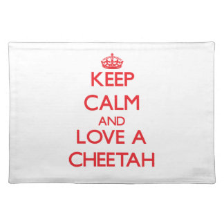 Cheetah Placemats