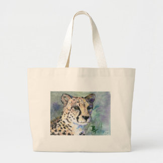 Cheetah Portrait aceo Bag