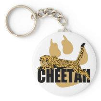 Cheetah Power Keychain