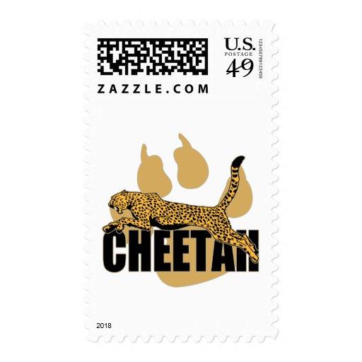 Cheetah Power Stamp