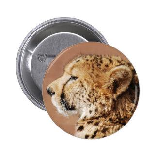 Cheetah Prince Pinback Buttons
